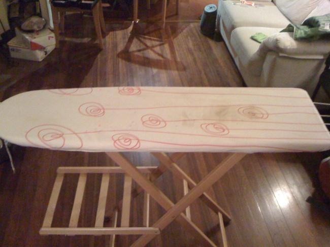 Mini tutorial para hacer una funda de tabla de planchar