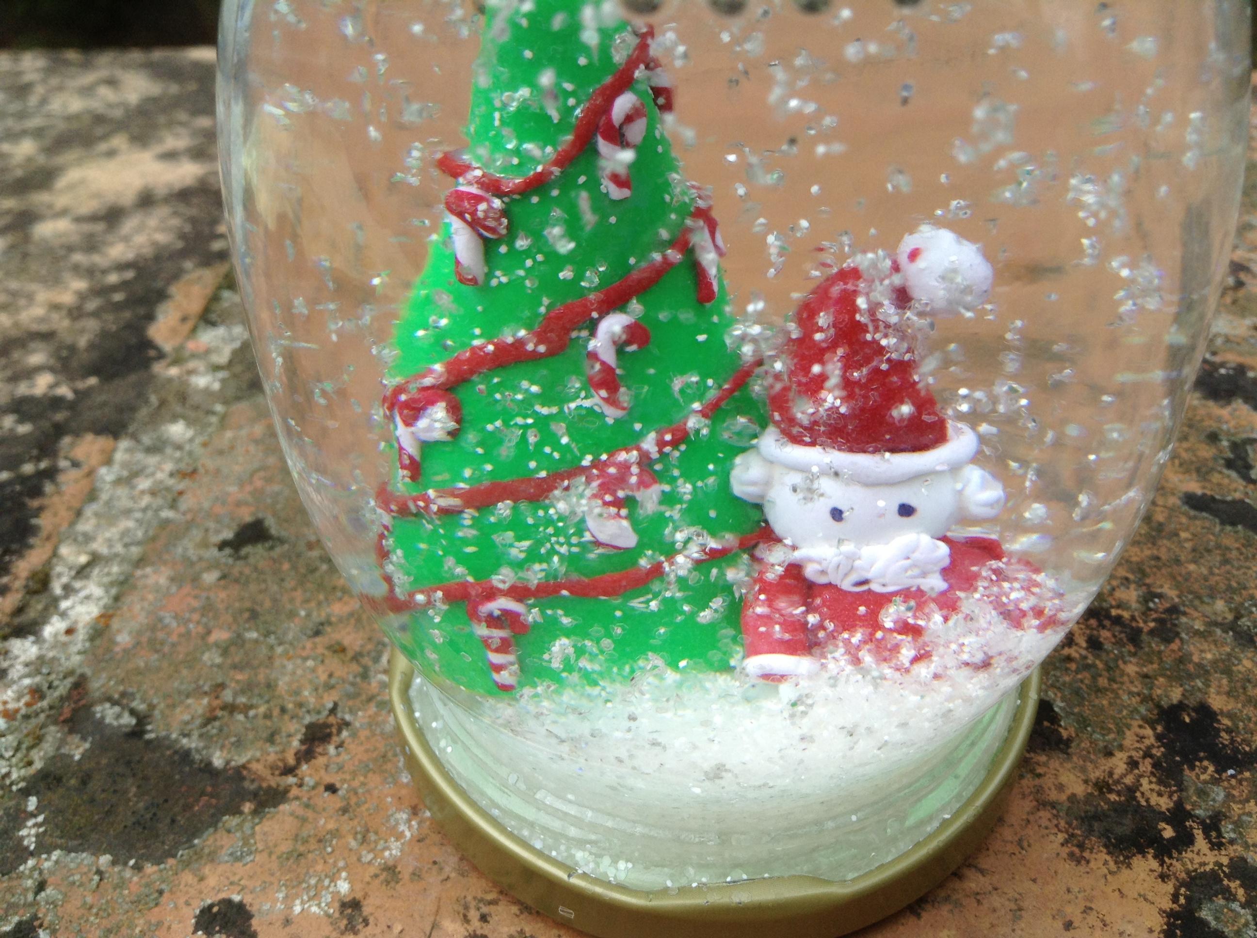 Preparando la navidad parte i bolas de nieve caseras - Hacer bolas de navidad ...
