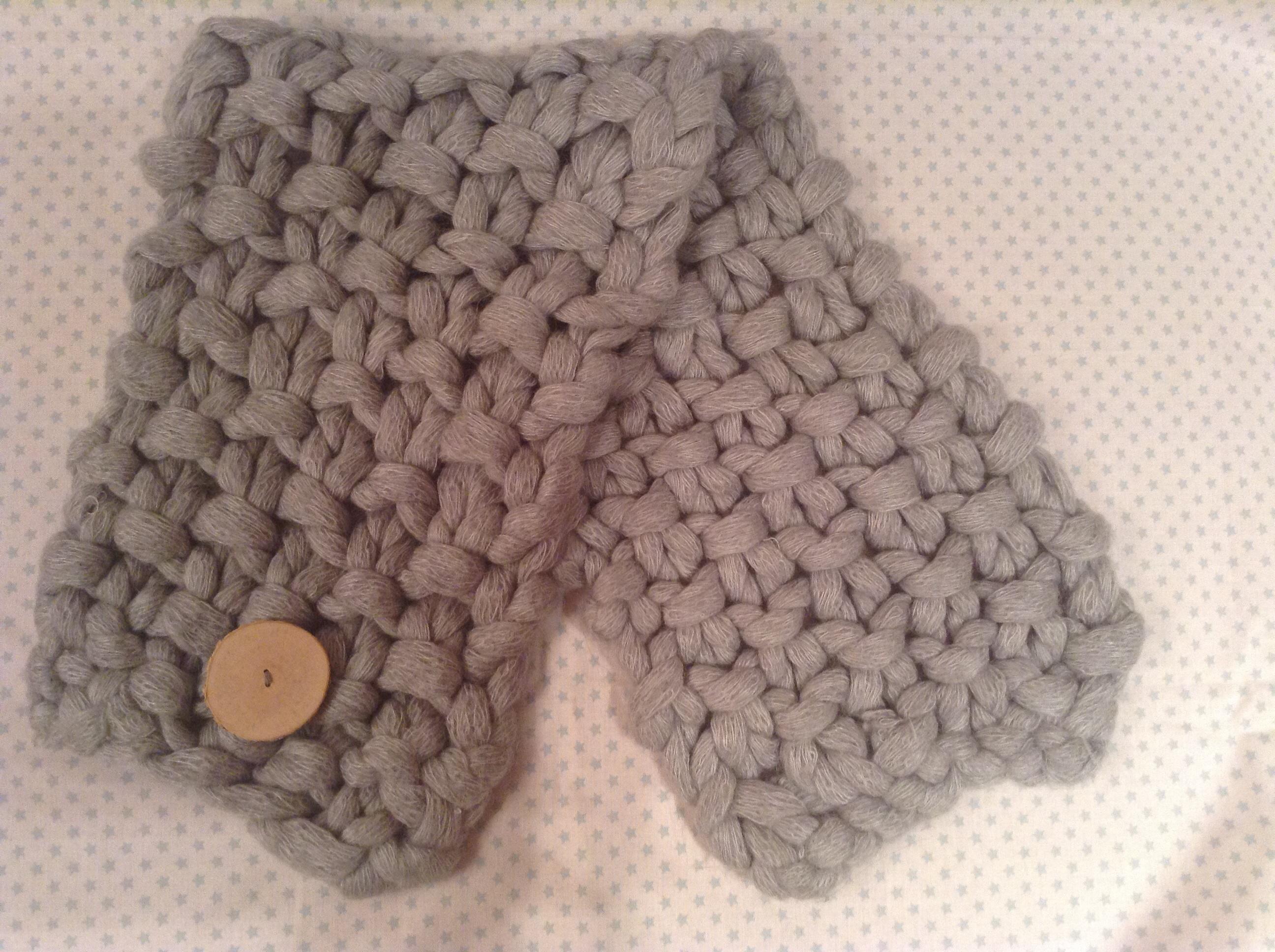 C mo hacer una bufanda express mifuku - Como hacer una bufanda de lana gorda ...
