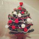 1. Bolas de Navidad Caseras