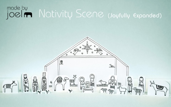 Made-by-Joel-Paper-City-Nativity-Joyfully-Expanded