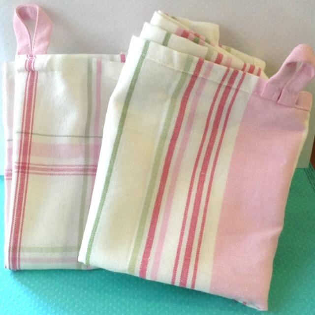 C mo convertir unos trapos de cocina de ikea en un bolso - Trapos de cocina ...
