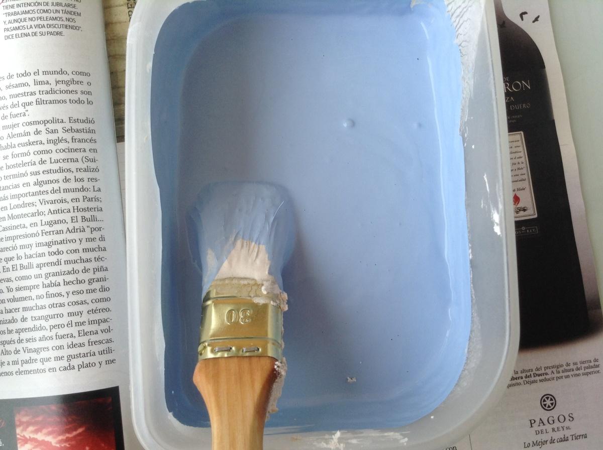 Cómo hacer chalkpaint casero