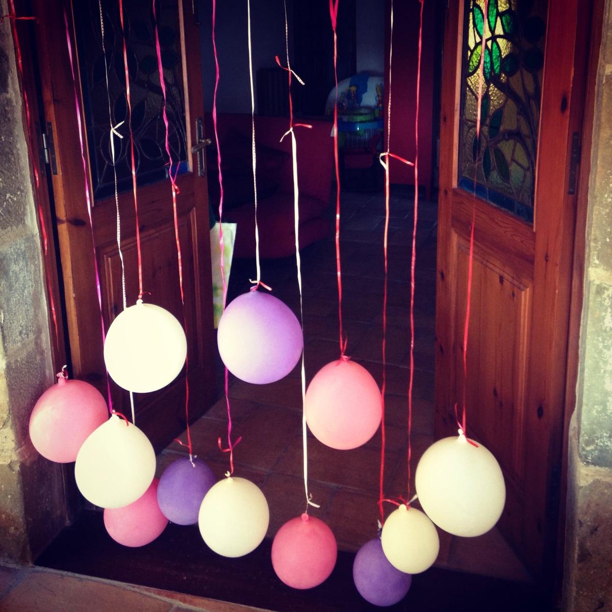 """Inventando juegos: """"persiana de globos"""""""