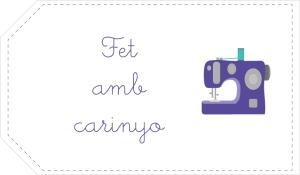 etiqueta maquina de coser catalana