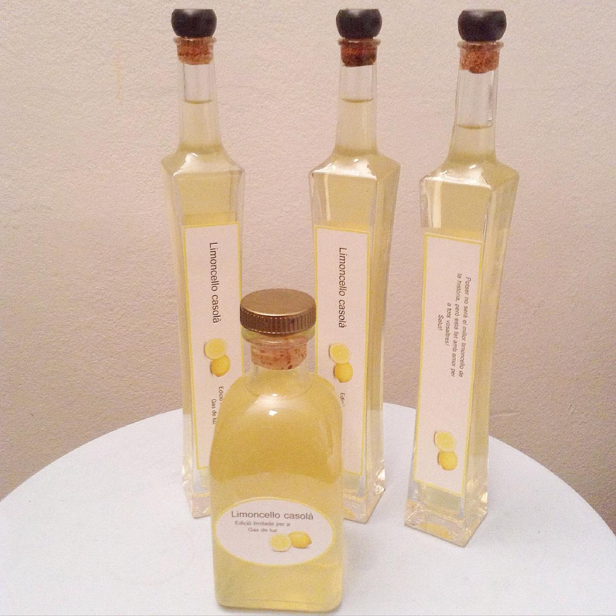 Receta de limoncello casero